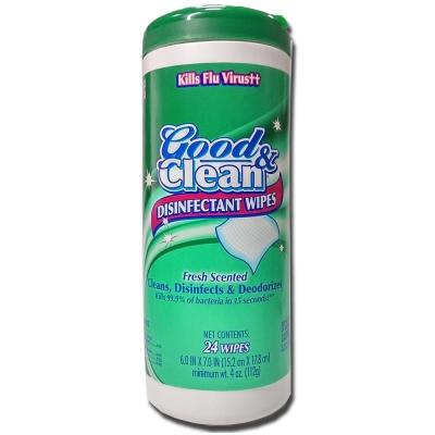 Good&Clean消毒濕巾-清新香氣(24抽)