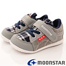 日本月星頂級童鞋 經典學步款 FO317灰(寶寶段)HN