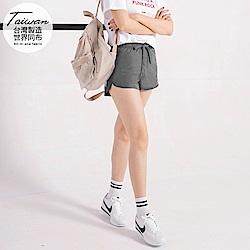 台灣品質.世界同布~內裡透氣網布素色運動短褲.4色-OB大尺碼