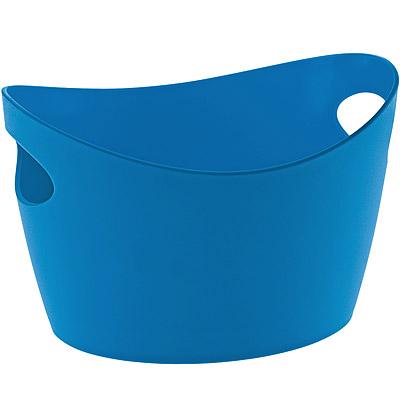 KOZIOL 雙柄收納籃(藍mini)