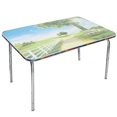 月陽PVC環保桌面折疊小桌子電腦桌和室桌(L4730)