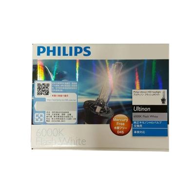 PHILIPS飛利浦-6000K-HID-氙氣車燈
