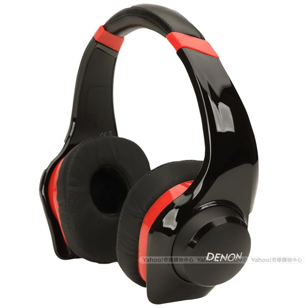 DENON 耳機 AH-D320 搖滾尖峰 紅色 耳罩式耳機