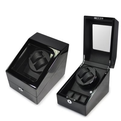WISH 機械腕錶自動上鍊盒‧5只裝-黑色鋼琴烤漆