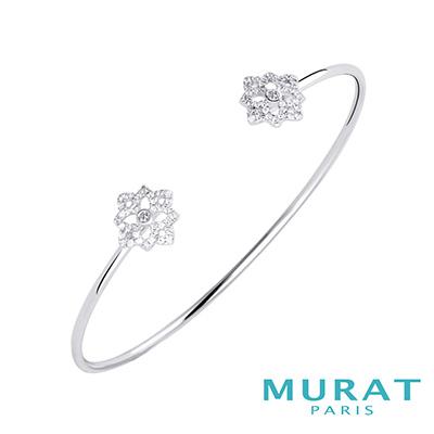 MURAT Paris米哈巴黎 典雅滿鑽冰晶手環