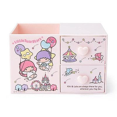 Sanrio 雙星仙子桌上型ABS塑膠筆筒與置物盒(雲朵遊樂園)
