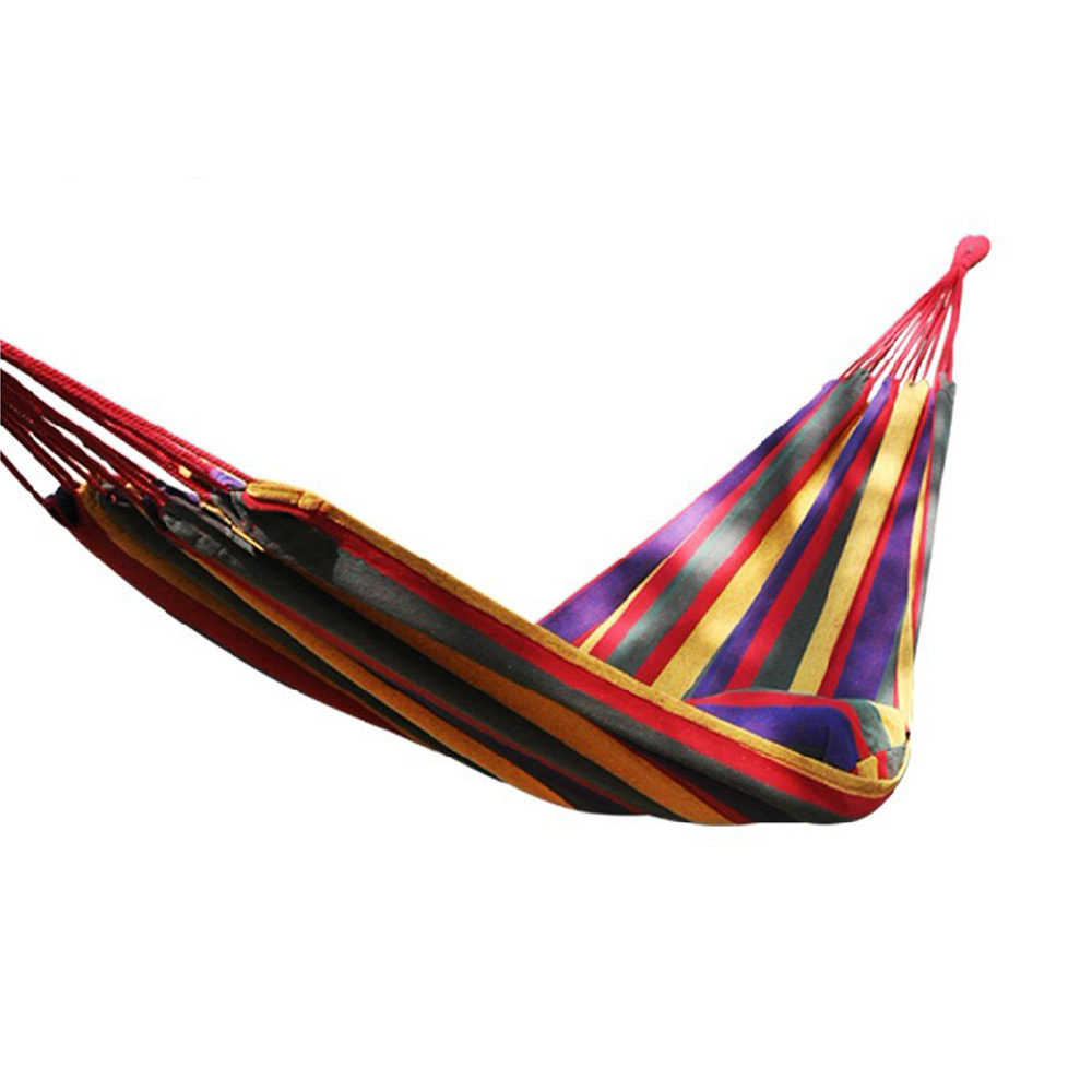 PUSH戶外休閒用品安全承重250kg加寬加厚的雙人吊床