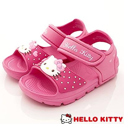 HelloKitty童鞋 超輕量涼鞋款 EI18127桃(中小童段)