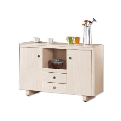 Bernice-泰倫斯4尺碗盤收納餐櫃-121x46x81cm