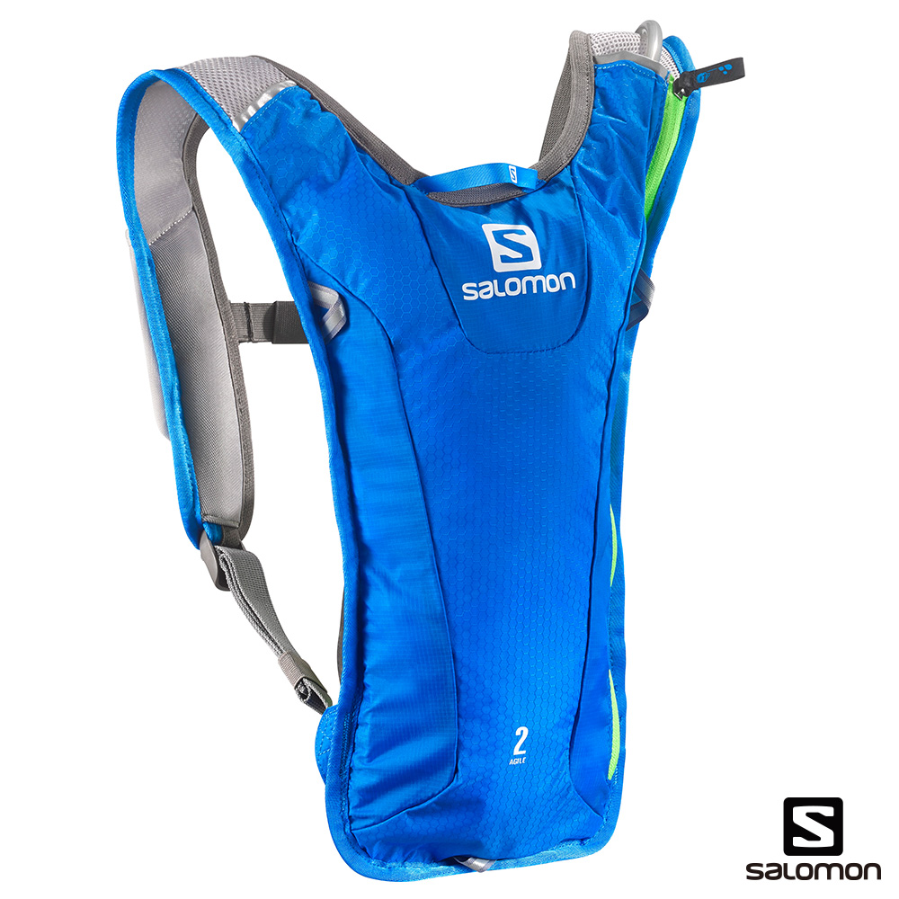 SALOMON AGILE 2 水袋背包組 海軍藍