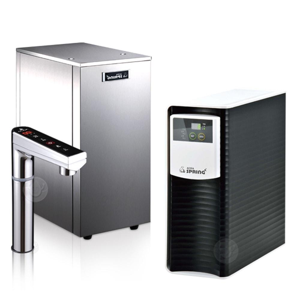 AQUASPRING 淨工坊 AQ802 櫥下型觸控式雙溫飲水機 (搭RO505純水機)