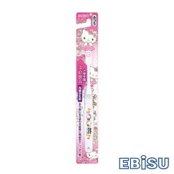 日本EBISU-Hello Kitty 6歲以上兒童牙刷 B-S30-顏色隨機
