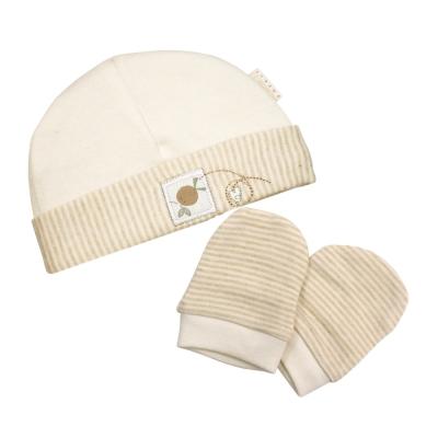 英國「Natures Purest」天然有機棉-帽及手套套裝(MHHM0080610)