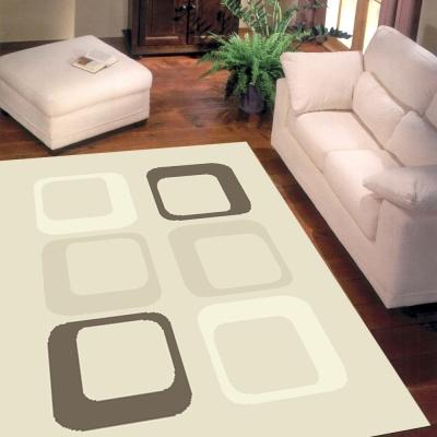 范登伯格 - 梅娜思 進口地毯 - 普普方框 (大款 - 200x290cm)