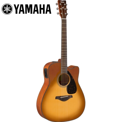 YAMAHA FGX800CSB 電民謠木吉他 沙漠漸層色