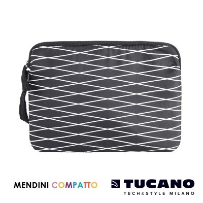 TUCANO X MENDINI 設計師系列輕量手拿包-黑