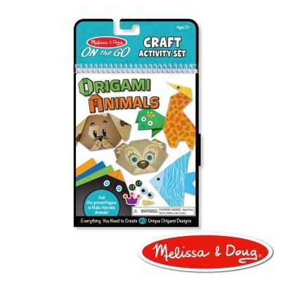 美國瑪莉莎 Melissa & Doug 創意折動物