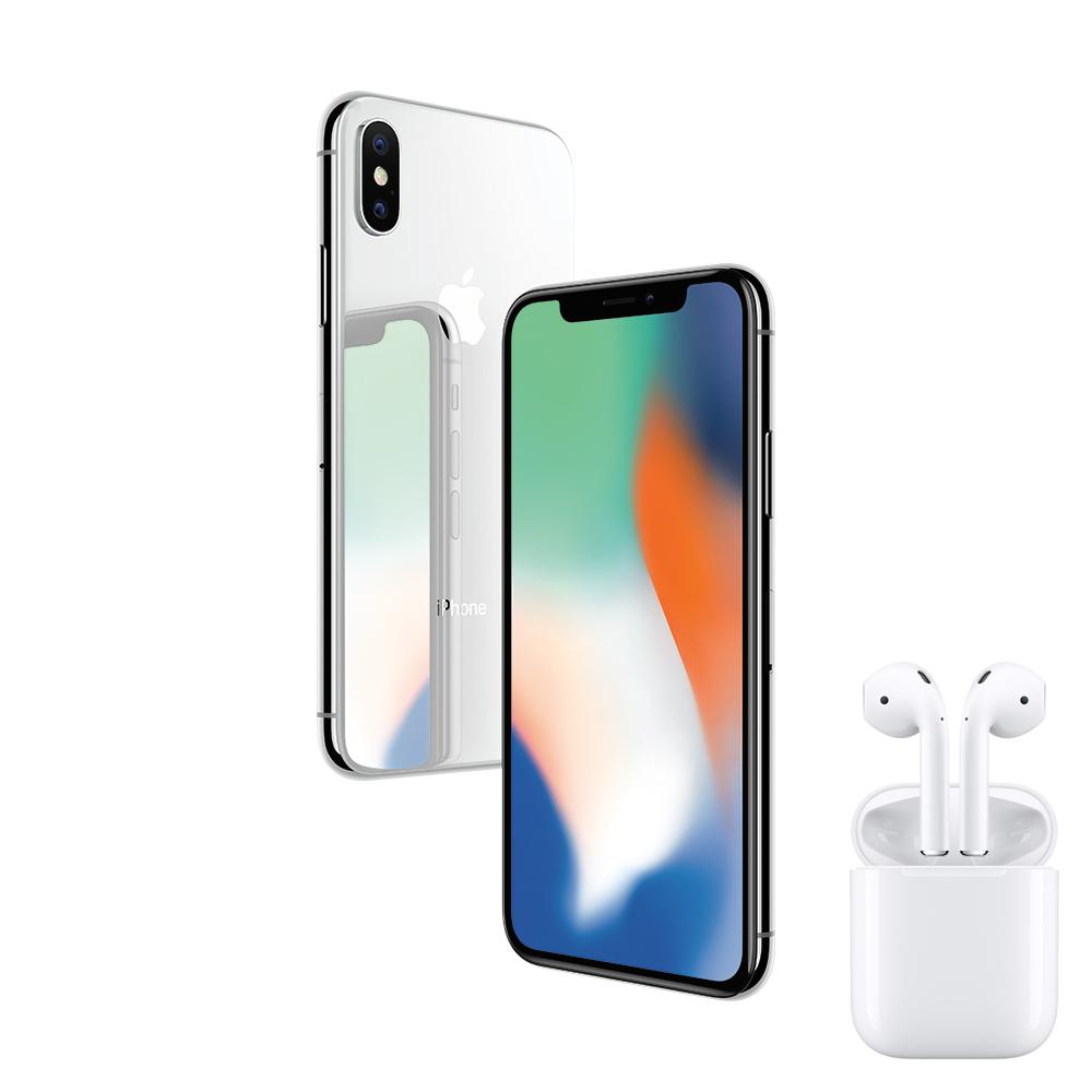 [無卡分期-12期] AirPods組合-Apple iPhone X 256G 5.8吋