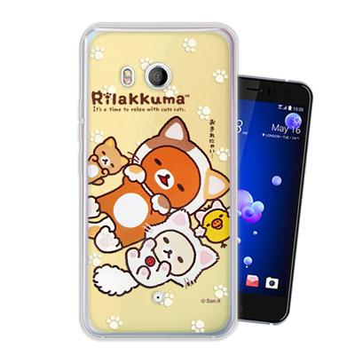 日本授權正版 拉拉熊/Rilakkuma HTC U11 變裝系列彩繪手機殼(狐...