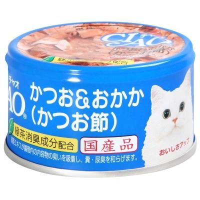 CIAO 旨定罐10號 鰹魚+柴魚片(85g)