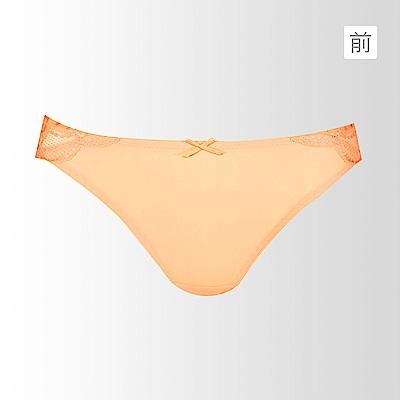 黛安芬-透氧魔術M-EL低腰內褲(珊瑚橘)