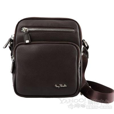 TONY PEROTTI 經典CONTATTO 軟牛皮肩背包 #9275 ( 咖啡色 )