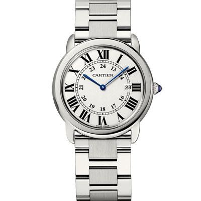 CARTIER卡地亞 Solo 經典腕錶( W6701005)-36mm