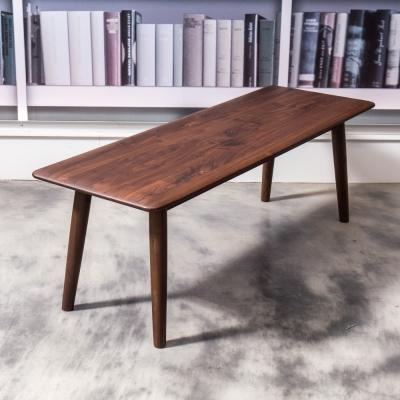杰諾家居-富瓦胡桃木餐椅-118x40x40cm