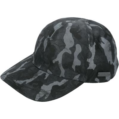 PRADA-刷色迷彩印花鴨舌帽