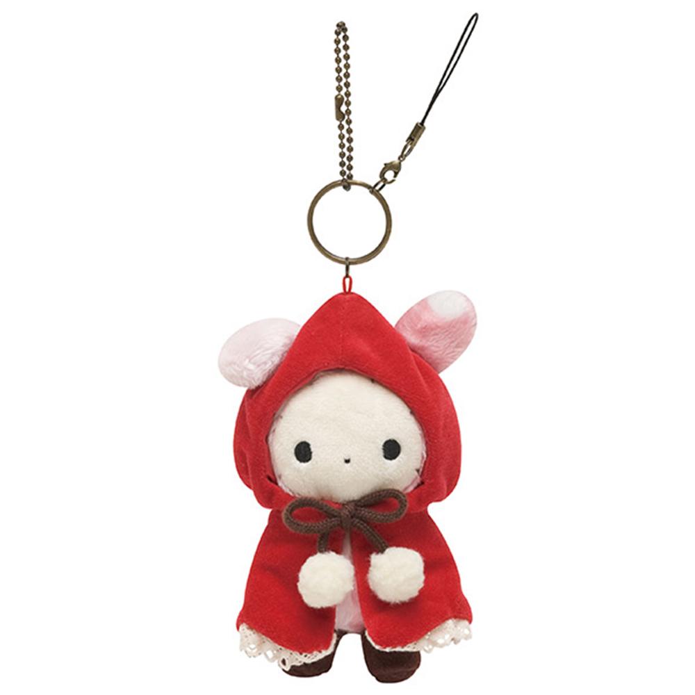 魔幻馬戲團木偶森林小紅帽系列毛絨小公仔吊飾。團長兔
