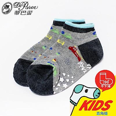 蒂巴蕾 KIDS 直角船襪-汽車