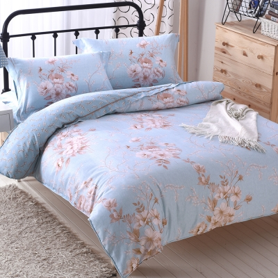 COOZICASA悠語寧夏 特大四件式吸濕排汗天絲兩用被床包組