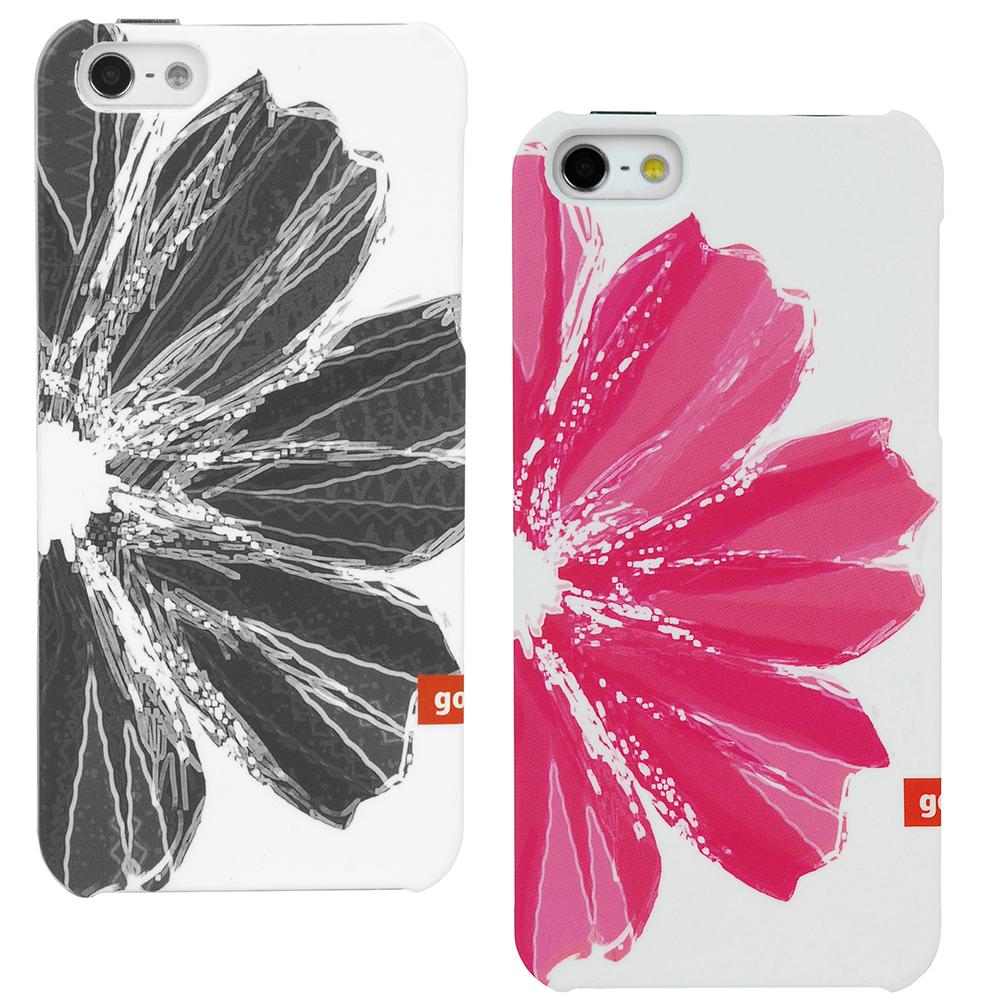 Golla iPhone5/5S 時尚潮流保護殼-花影系列