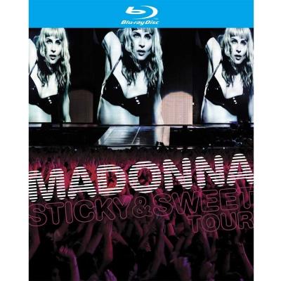 瑪丹娜 黏蜜蜜 世界巡迴演唱會實錄 BD+CD 藍光 BD