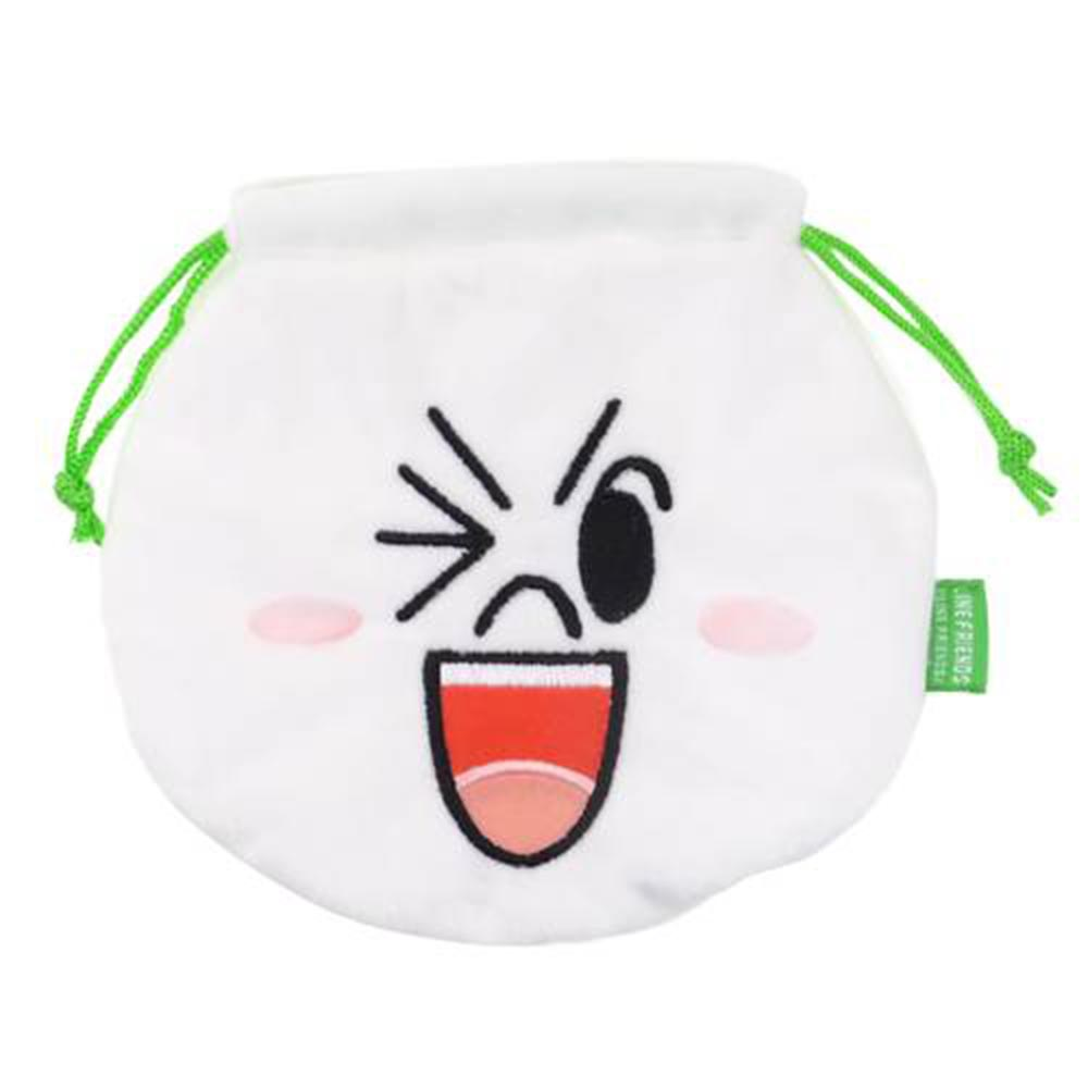 LINE束口袋 - 饅頭人
