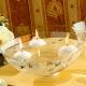 Madiggan玫瑰系列手工彩繪開運玻璃碗(粉紅.紫色.金黃三色任選) product thumbnail 1