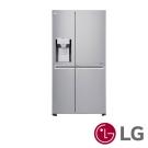 [無卡分期12期]LG 797公升門中門對開冰箱(星辰銀)GR-DPL80N