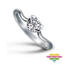 彩糖鑽工坊 心動系列 19分鑽石戒指 愛心鑽戒