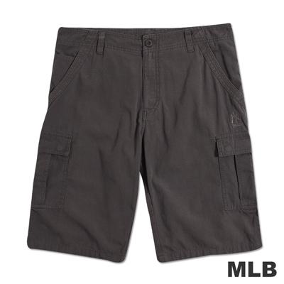 MLB-紐約洋基隊電繡休閒短褲-深卡其(男)
