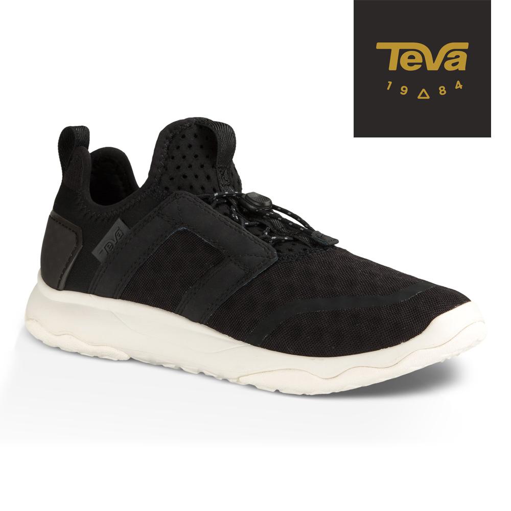 TEVA 美國 女 Arrowood Swift Lace 輕量休閒鞋 (黑)