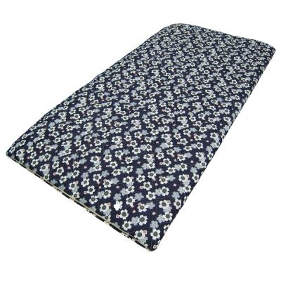 星辰 景良日式單人折疊床墊(小藍花)