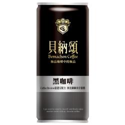貝納頌 黑咖啡(210mlx6入)