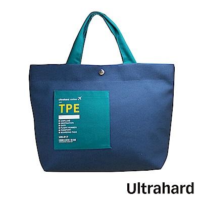 Ultrahard Traveler Destn兩用托特包-台北(藍綠)