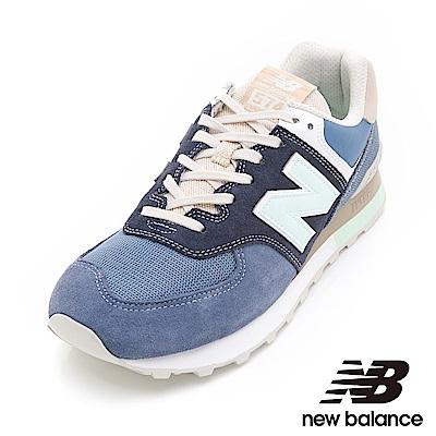 New Balance574運動鞋男女鞋ML574BSL藍