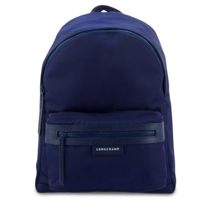 Longchamp Le Pliage Neo 厚尼龍後背包(大)-深藍色
