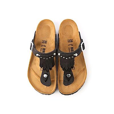 勃肯BIRKENSTOCK 1006754。GIZEH吉薩 夾腳拖鞋(黑)