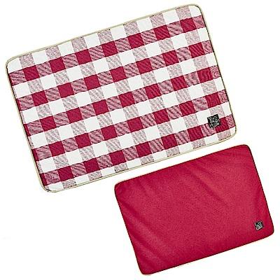 Lifeapp 寵物睡墊經典格紋替換布套 (不含睡墊) (M號)