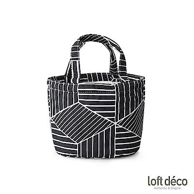 Loft Deco | White lines | 束口保溫萬用袋