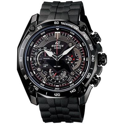CASIO EDIFICE 極致勁速腕錶(黑)-45mm