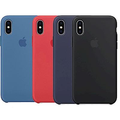 Apple 原廠 iPhone  X 矽膠保護殼